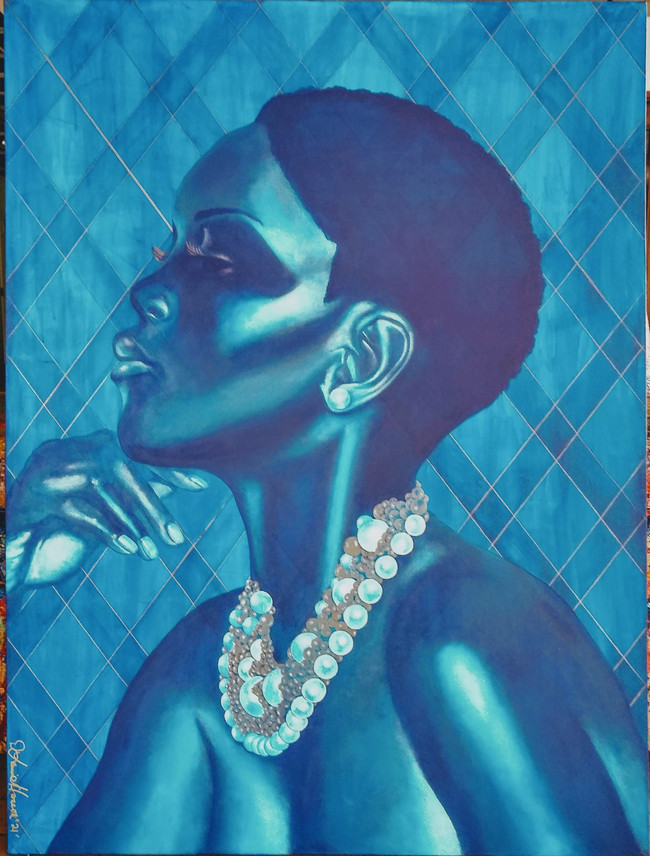 """The African Wears Pearls (formerly """"Serene"""")"""