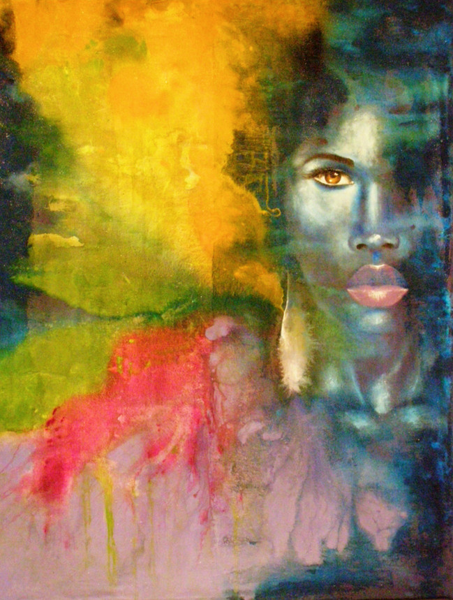 The Colorful Spirit of a Woman