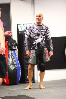 me teaching MMA