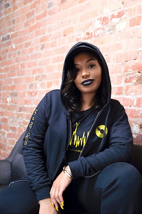 MVB RECORDS Artist Hoodie (Black)