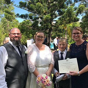 Annette & Paul - GC Pop Up Wedding