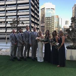Ashleigh & Liam - GC Pop Up Wedding