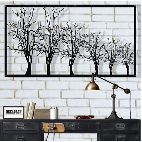 Growing Trees Metal Wall Décor