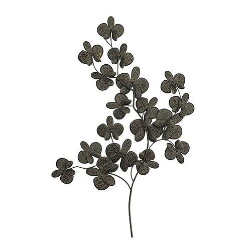 Leafy Branch Metal Wall Décor