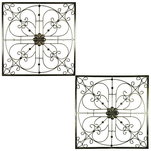 Scrolled Iron Wall Décor (Set of 2)
