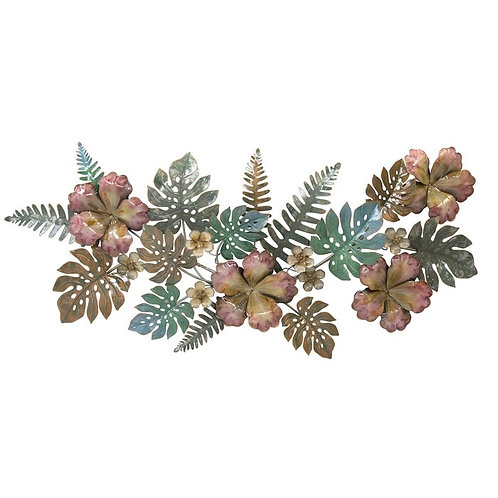 Flower Lei Metal Wall Art