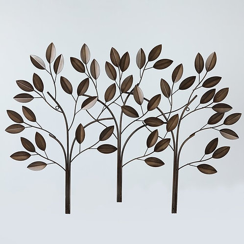 Metal Trees Wall Décor