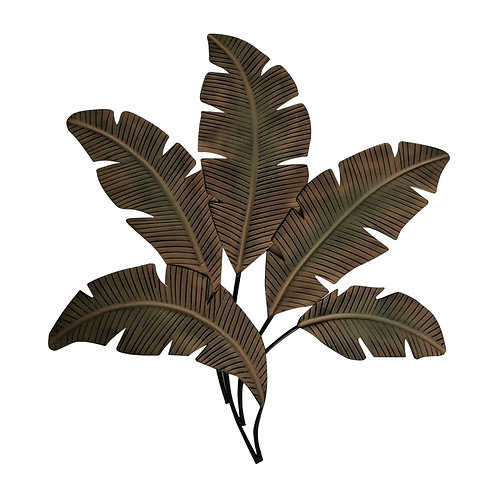 Metal Wall Decor Palm Leaf