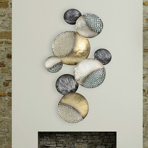 Abstract Moons Wall Décor