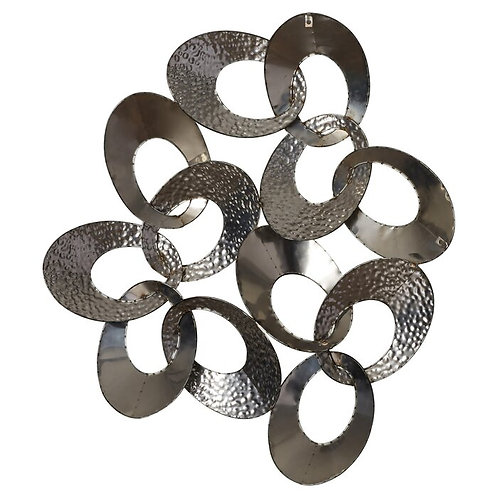 Intertwining Loops Metal Wall Décor