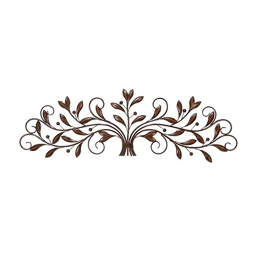 Iron Leaf and Berry Wall Décor