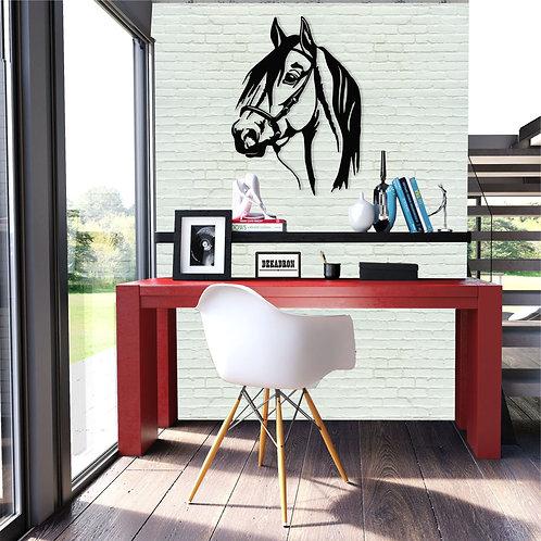 Horse Head Metal Wall Decor