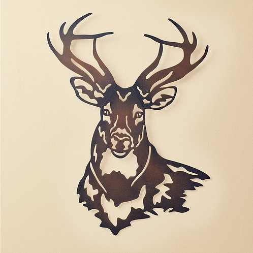 Deer Metal Wall Décor