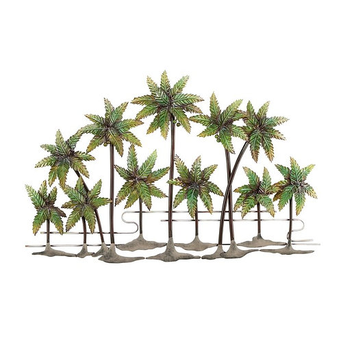 Metal Palm Trees Wall Décor