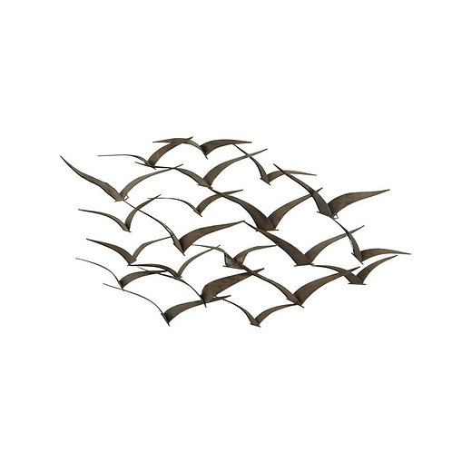 Birds In Flight Metal Wall Décor
