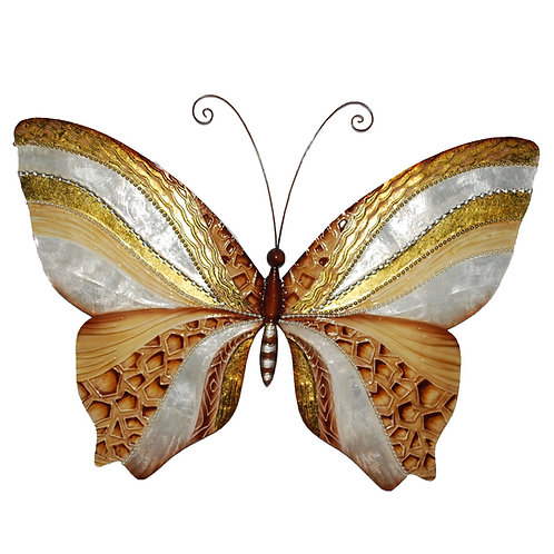Contemporary Butterfly Metal Wall Décor