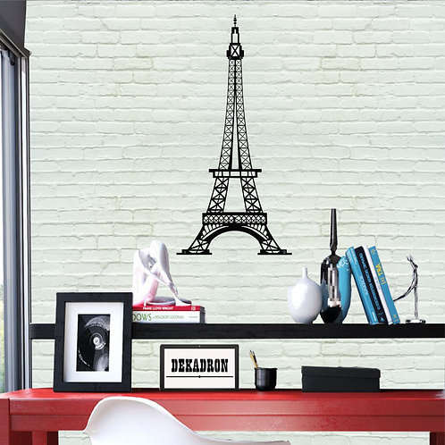 Eiffel Tower Metal Wall Decor
