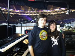 Backstage - Black Sabbath concert