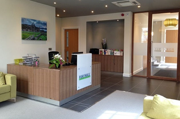 Reception Portwall Dental Surgery Chepstow