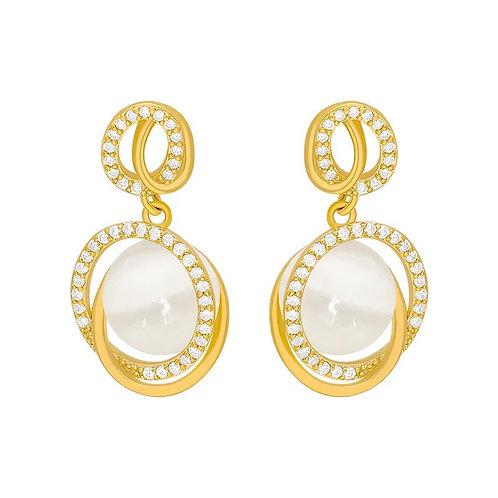 Isla Gold Drop Earrings