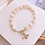 Thumbnail: Bride-to-bee Imitation Pearl Bracelet