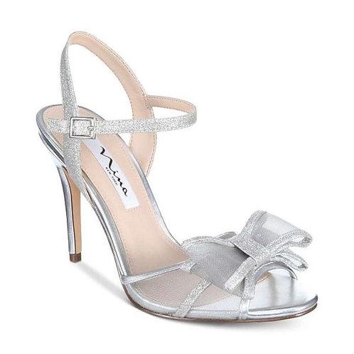 Nina Glitter Bow Mesh Sandal