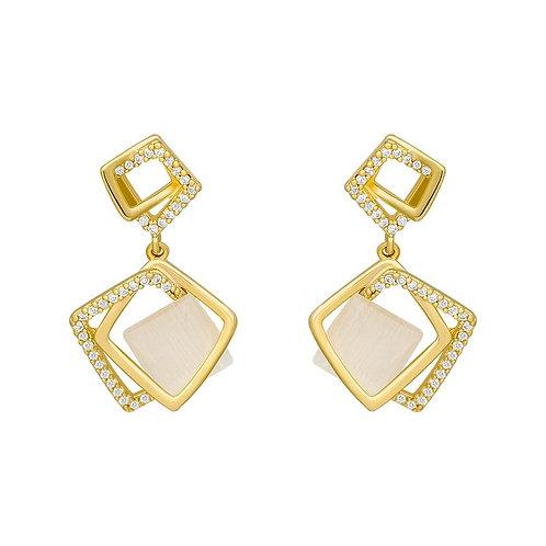 Catalina Gold Drop Earrings