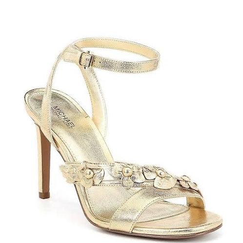 Michael Kors Golden Heeled Sandal