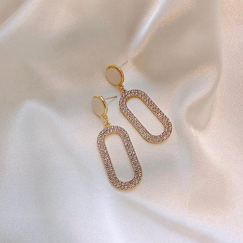 Savannah Crystal Drop Earrings