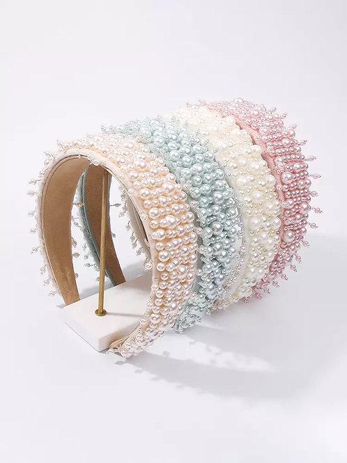 Belize Handmade Pearl Headbands