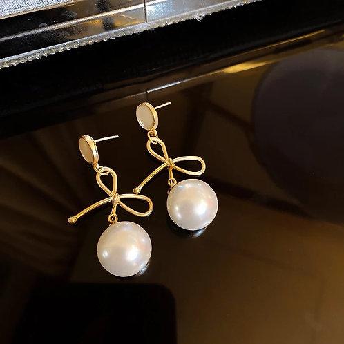 Joy Pearl drop earrings