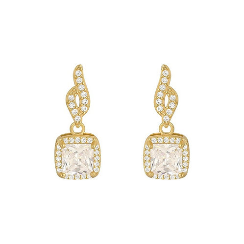 Emily Mini Crystal Earrings