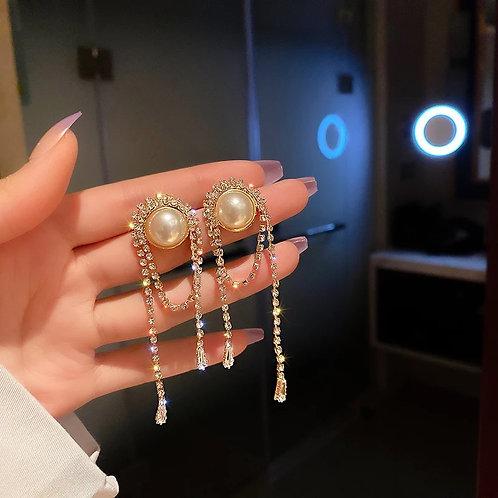 Sue Crystal Statement Earrings