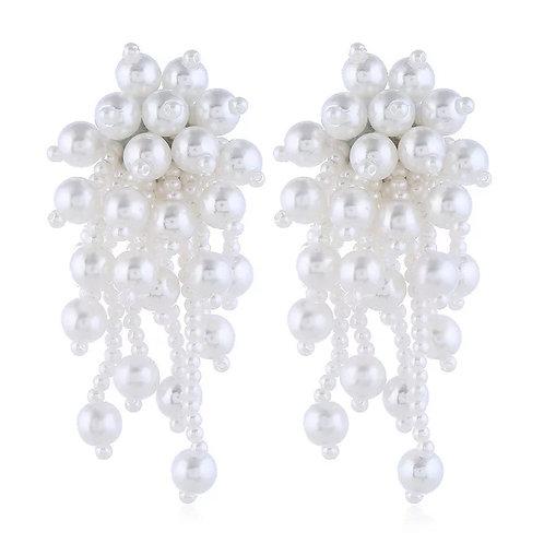 Gia freshwater pearl drop earrings