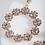 Thumbnail: Karla Rose Gold Circle Earrings