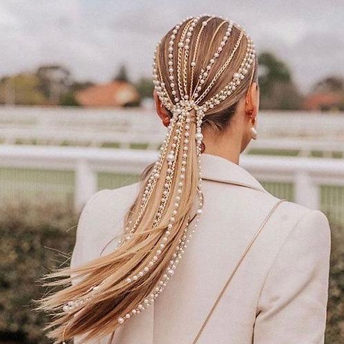 Luna Simulated Pearl Hair Clip