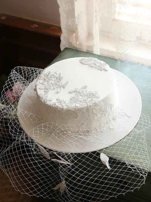 Morgan Ivory Hat
