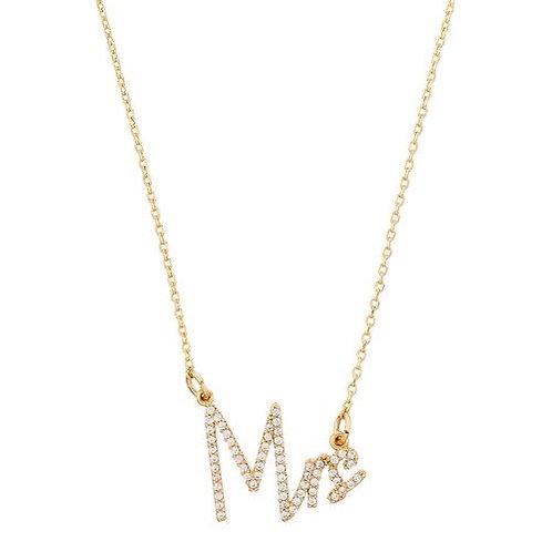 MRS Pendant Necklace