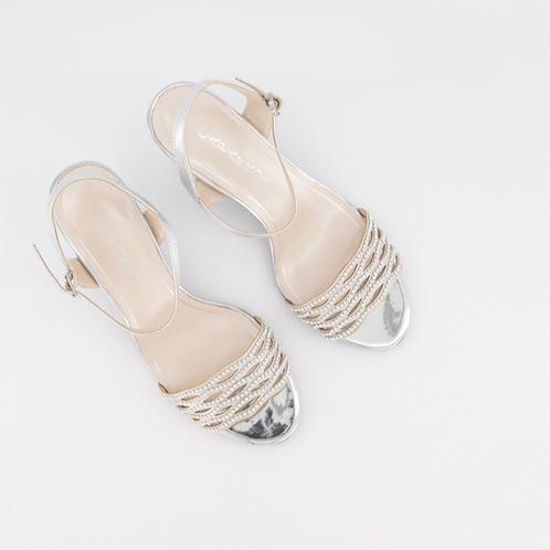 Caparross Silver Sandal
