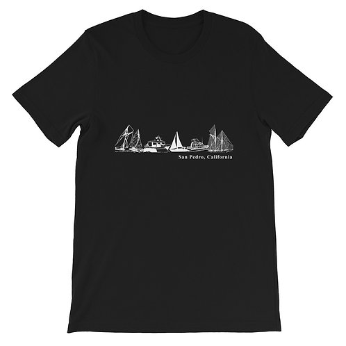 San Pedro CA. Yachting Short-Sleeve Unisex T-Shirt