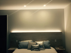 Bedroom backlighting