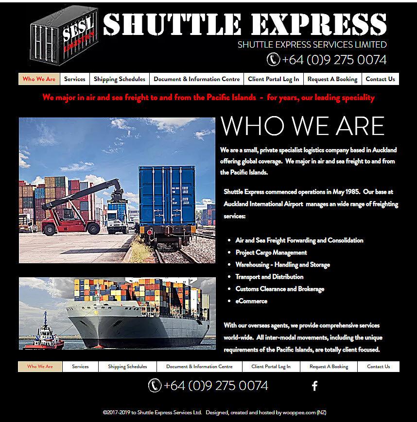 Wooppee website design warkworth New Zealand