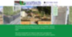 Landtech web site designed by wooppee websites