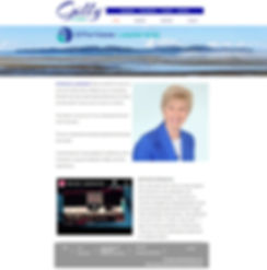 Gilly Chater website home page