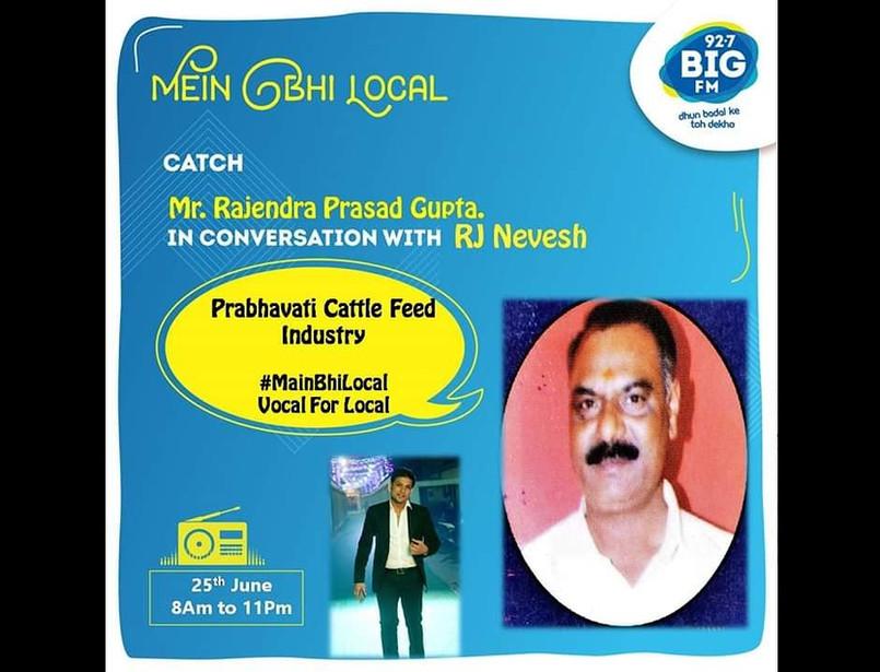 Big FM 92.7 conversation with RJ Nevesh, Dudhbadhaye khushiyan Laye
