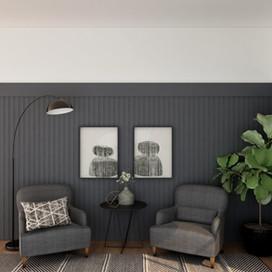 Virtual Design for Living Room