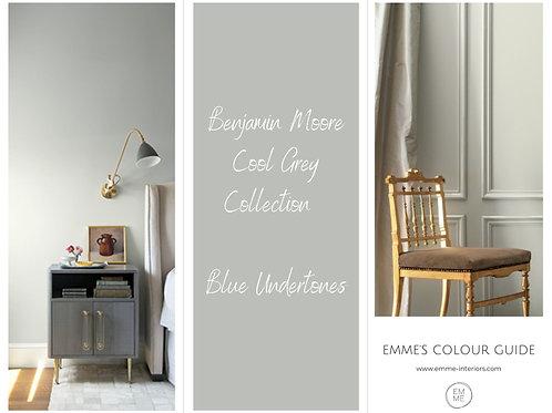 Benjamin Moore  Cool Grey Collection - Blue Undertones