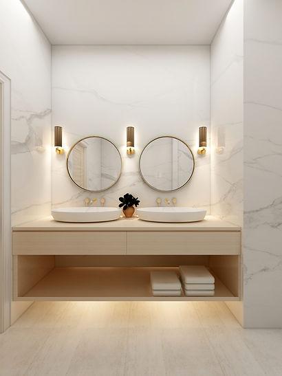 Bathroom Double Basins with Marble.jpg