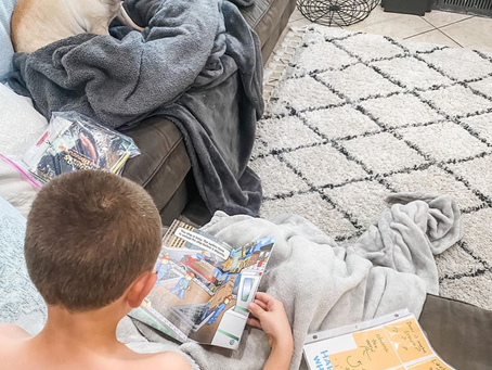 My kiddo read independently while I was able to clean the kitchen, make the beds, and ...