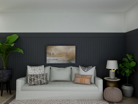 Shop the Look - Living Room with Earthy Tones